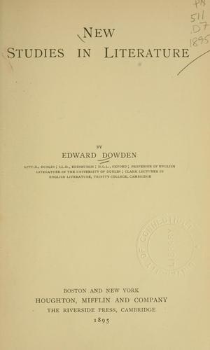 Download New studies in literature