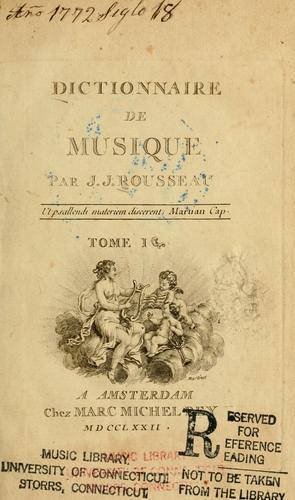 Download Dictionnaire de musique.
