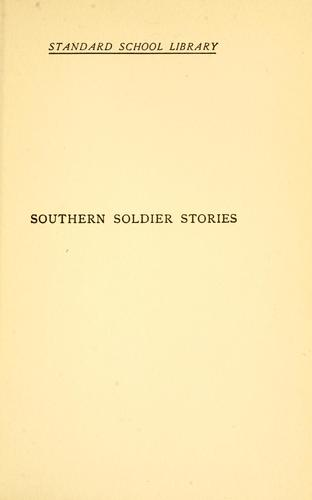 Download Southern soldier stories