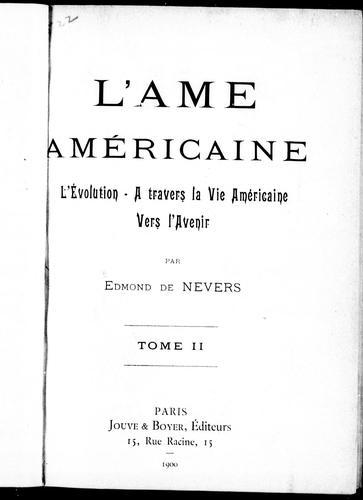 Download L' âme américaine