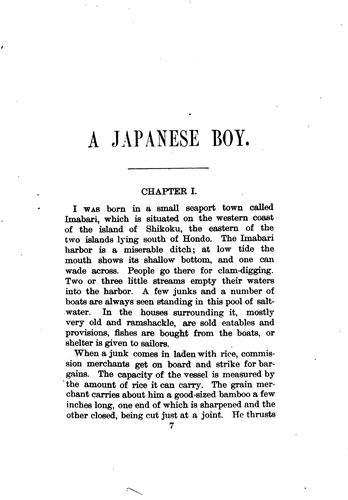 A Japanese Boy