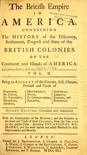 Download The British Empire in America