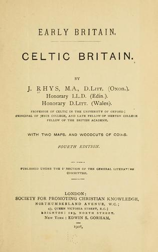 Download Celtic Britain.