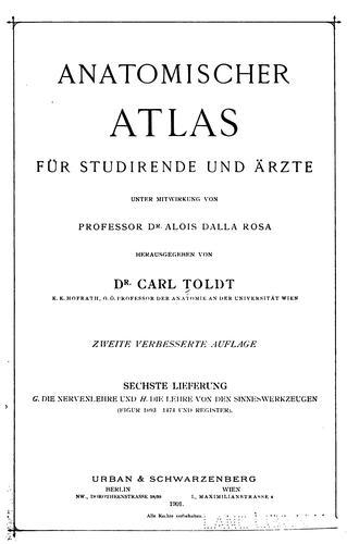 Anatomischer Atlas fuer Studirende und Aerzte suppl., 1903
