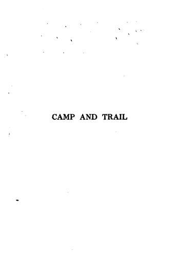 Camp and Trail …