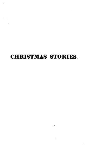 Christmas stories by E. Berens.