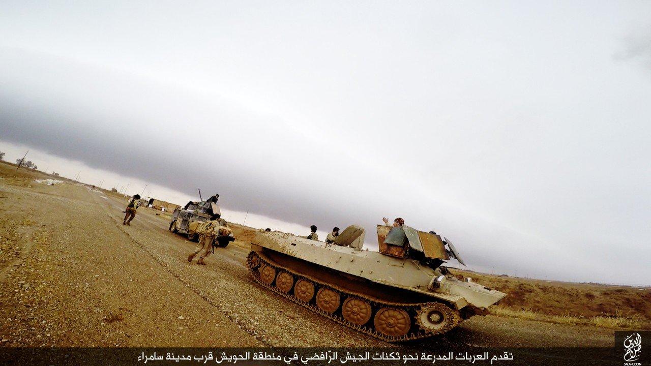 الدولة الإسلامية تقاتل على أبواب سامراء 03