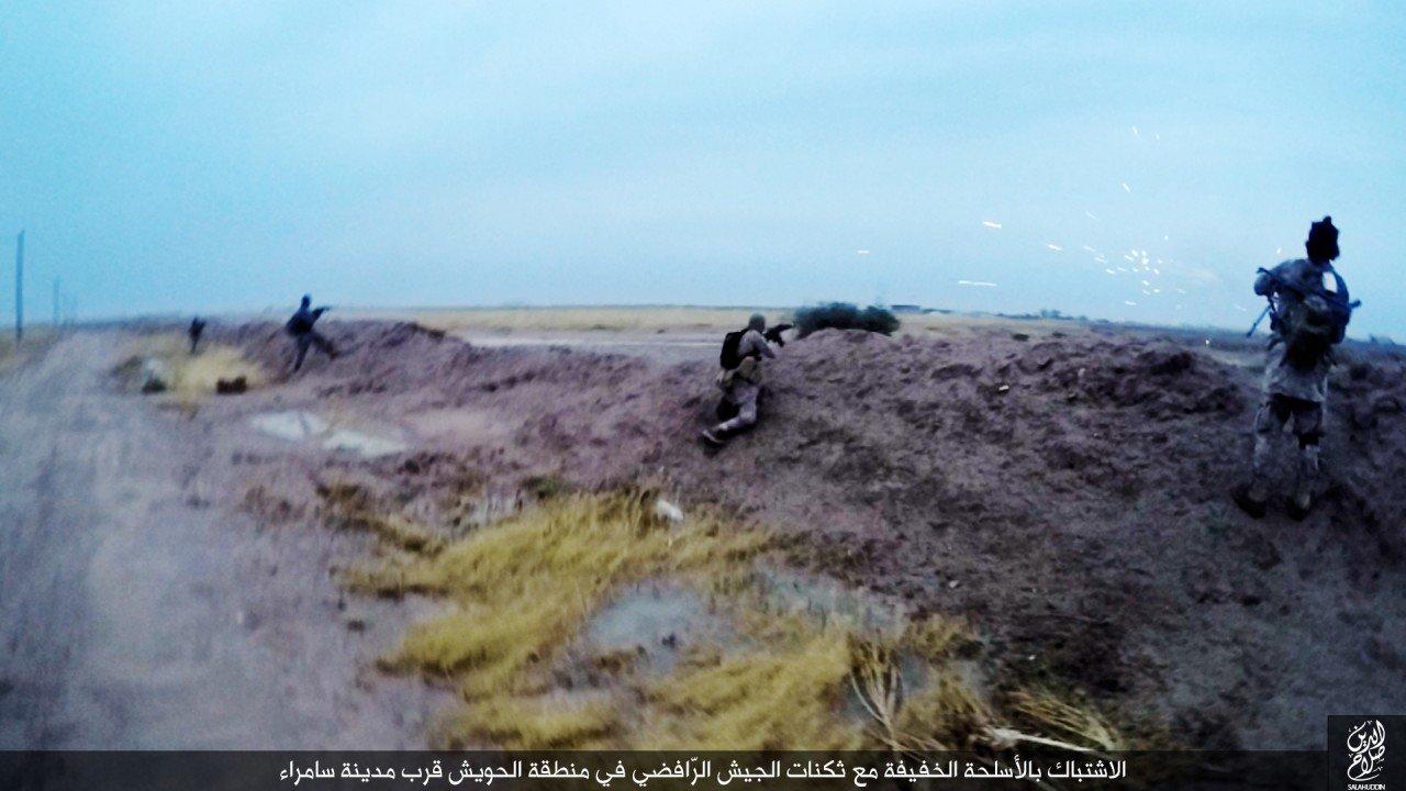 الدولة الإسلامية تقاتل على أبواب سامراء 04