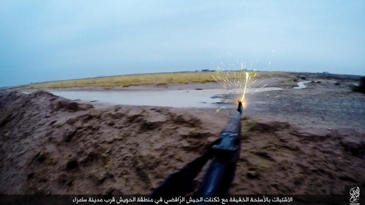 الدولة الإسلامية تقاتل على أبواب سامراء 05