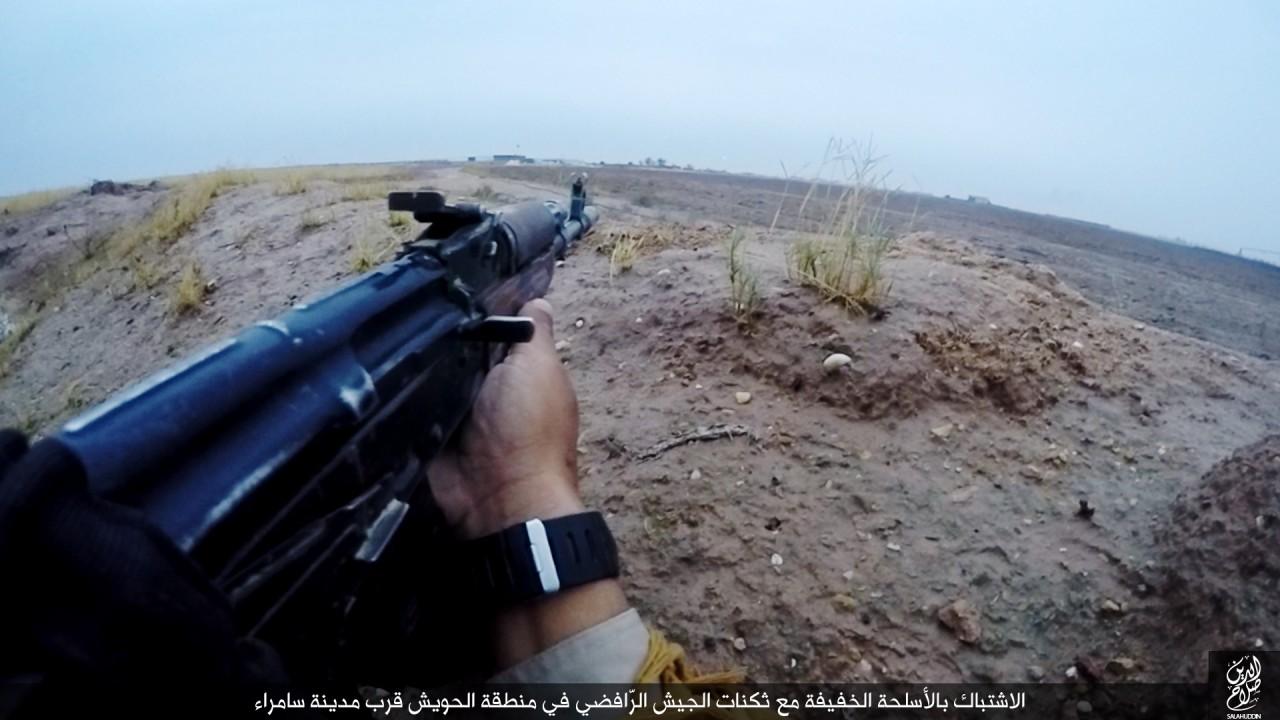 الدولة الإسلامية تقاتل على أبواب سامراء 06