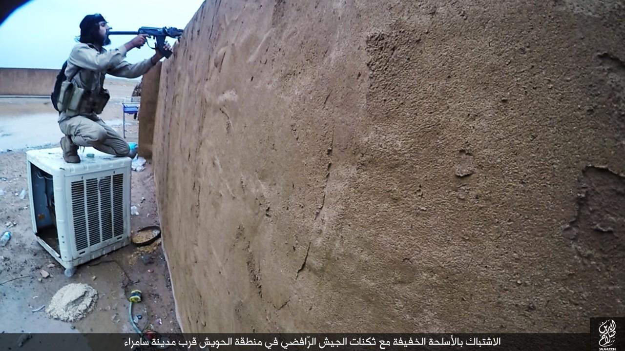 الدولة الإسلامية تقاتل على أبواب سامراء 07