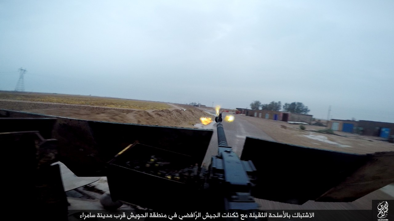 الدولة الإسلامية تقاتل على أبواب سامراء 08