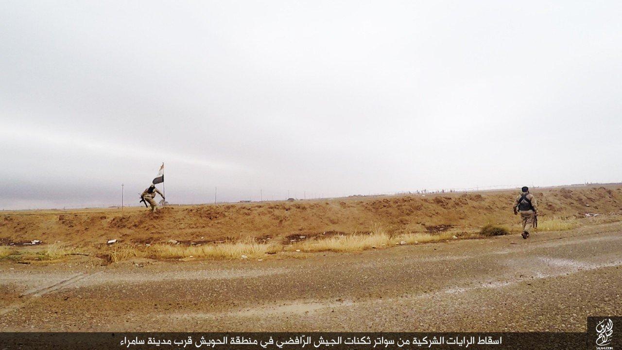 الدولة الإسلامية تقاتل على أبواب سامراء 11