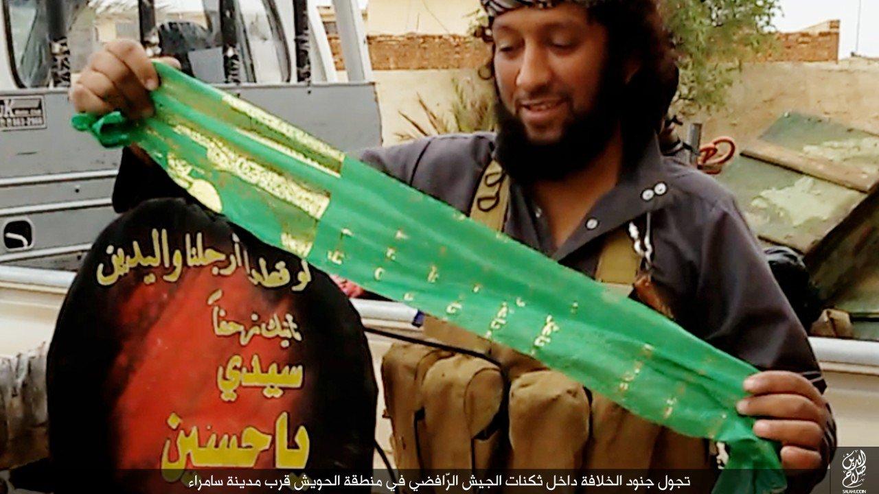 الدولة الإسلامية تقاتل على أبواب سامراء 14