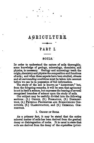 Agricultural text-book by John Wrightson